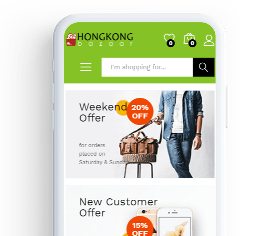 online grocery shopping store mobile app in hongkong