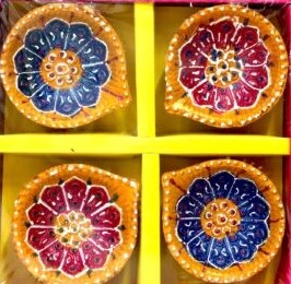 Color Diya set 4