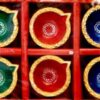Color Diya set 6